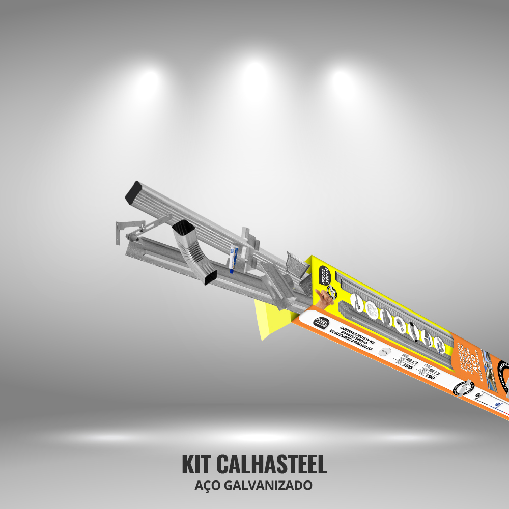 Kit CalhaSteel